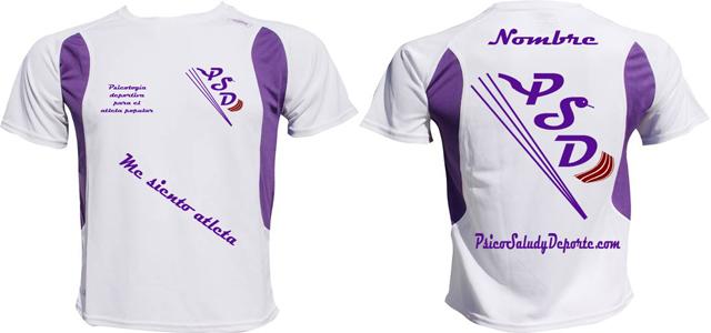 """Para los clientes de PsicoSaludyDeporte y simpatizantes de nuestros servicios existe la posibilidad de adquirir nuestra camiseta """"me siento atleta"""" personalizable de la marca: Ventajas: 1. Mientras entrenes serás identificable […]"""